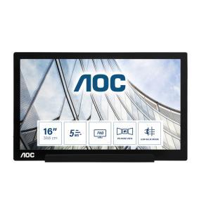 Portable Monitor 16in 1920x1080@60hz IPS 700:1 220cd/m2 5ms USB Type-C