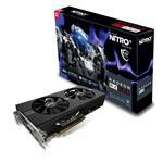 Video Card Radeon Rx 580 8GB Gddr5 Nitro+ Pci-e 2xhdmi DVI-d 2xdp W/bp
